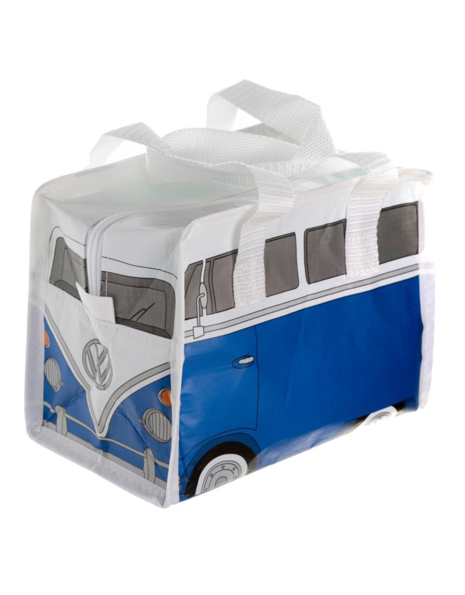 Mini zakje VW busje blauw