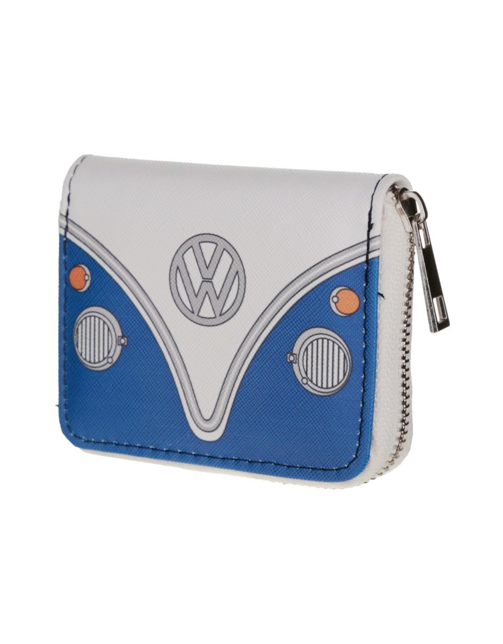 Portemonneetje VW busje blauw