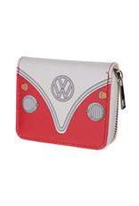 Portemonneetje VW busje rood