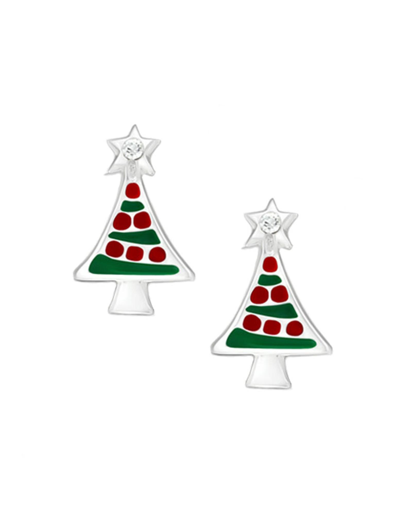 Stekertjes zilver kerstboom