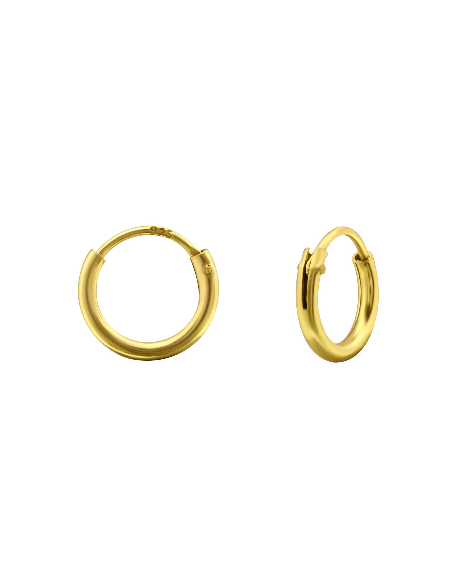 Ringetjes verguld 10mm