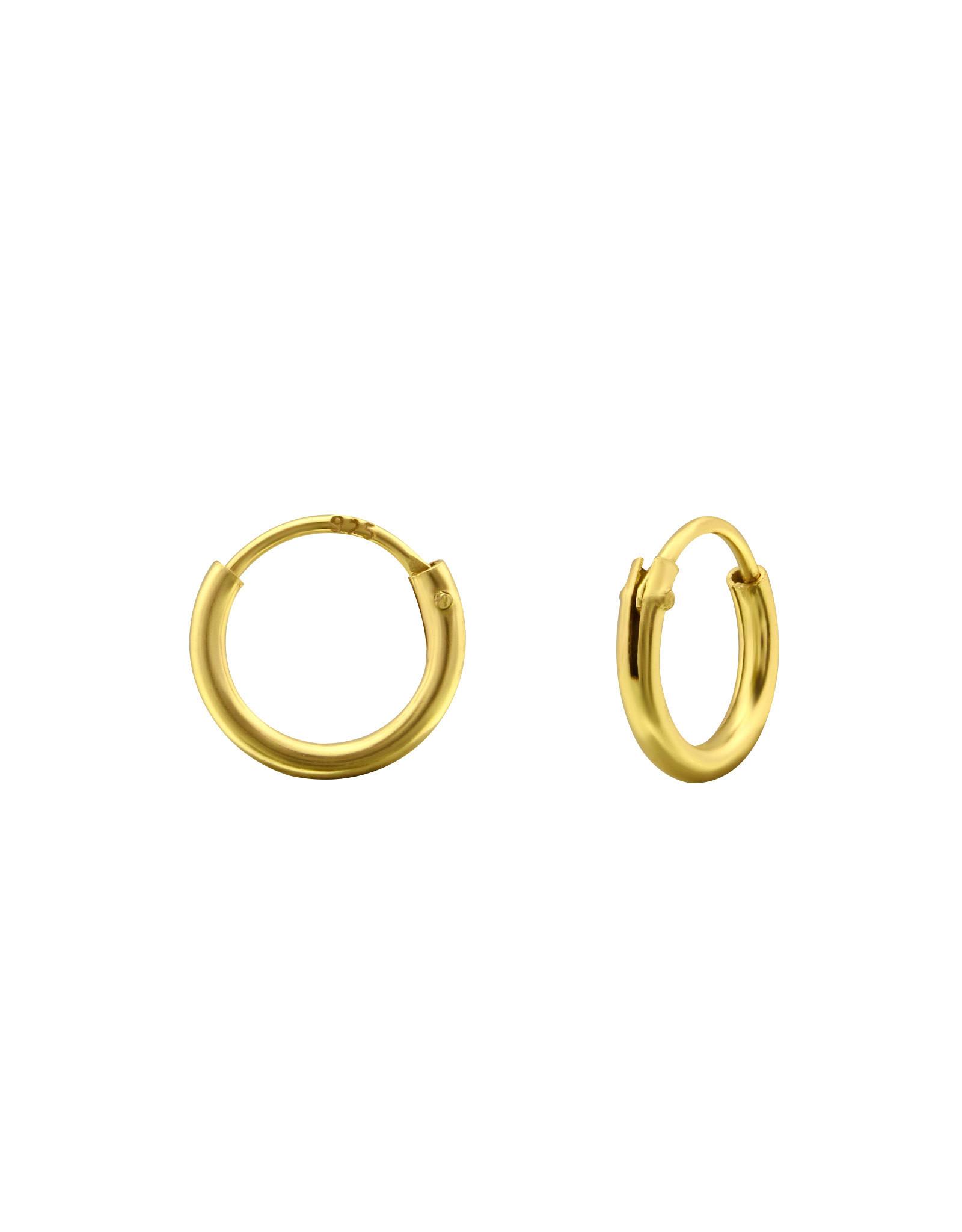 Ringetjes verguld 8mm