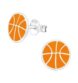 Stekertjes zilver basketbal