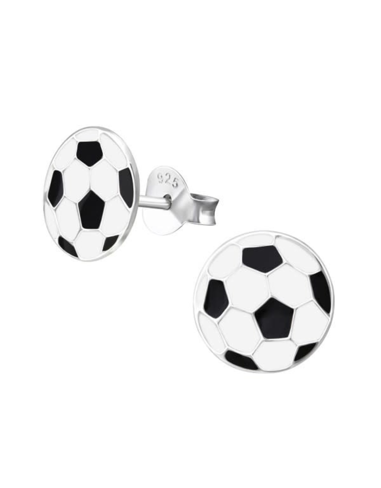Stekertjes zilver voetbal