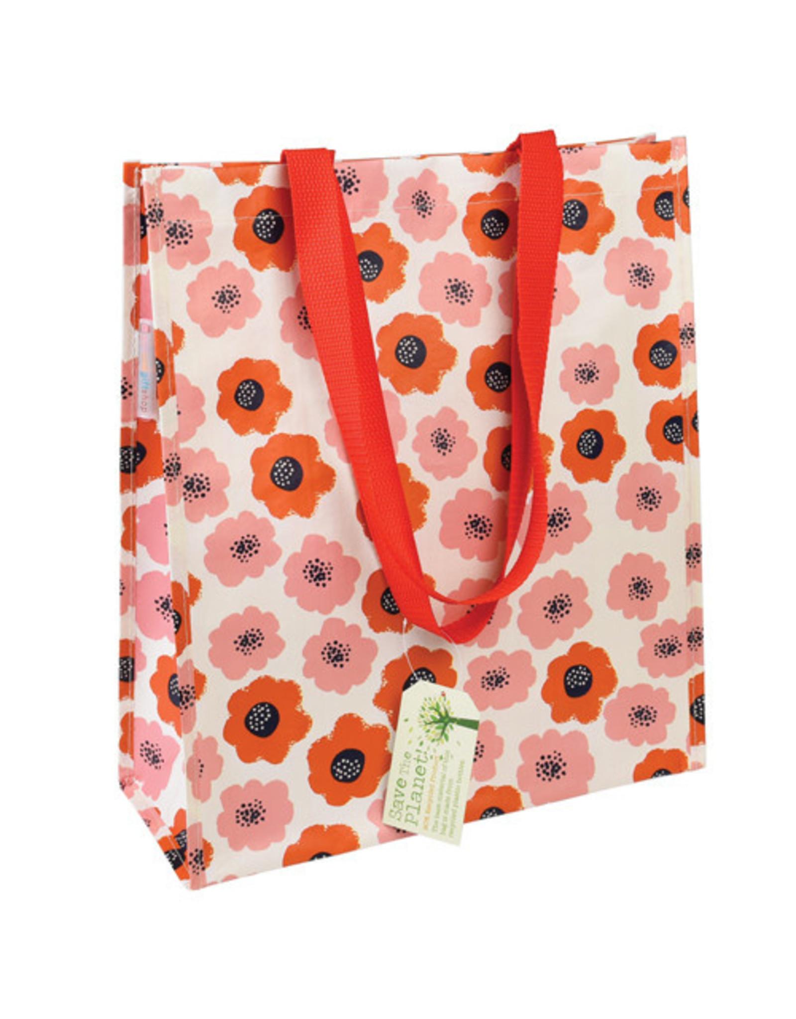 Shopper A3 poppy rood