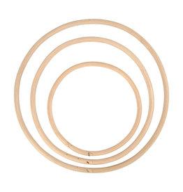 Bamboe ringen set van 3