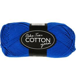 Katoendraad kobaltblauw