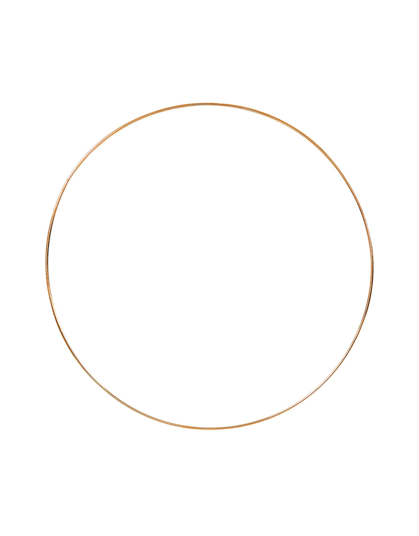Ring 25cm goudkleur