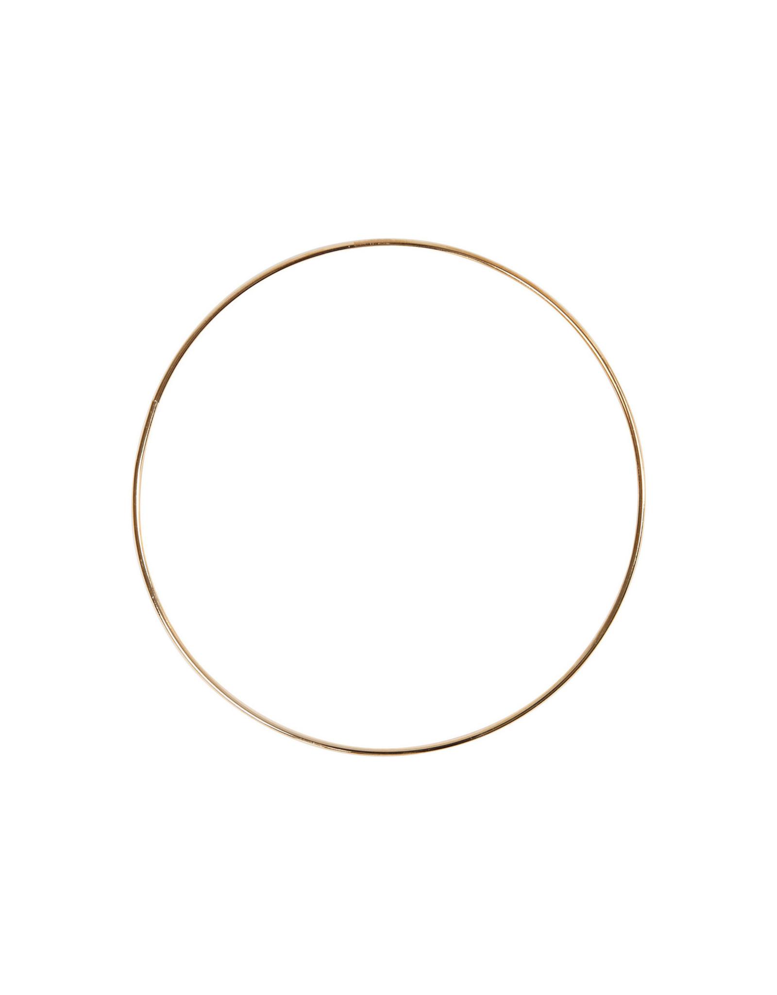 Ring 20cm rose goudkleur