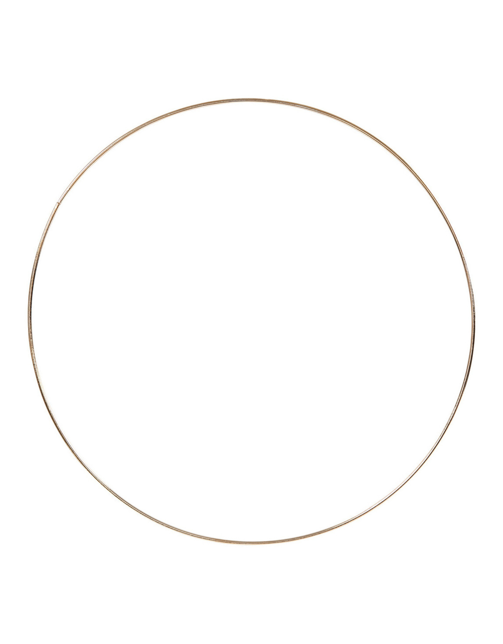 Ring 30cm rose goudkleur