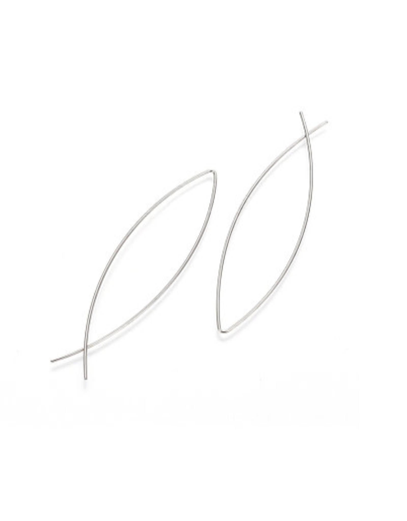 oorbEllen minimalistisch RVS