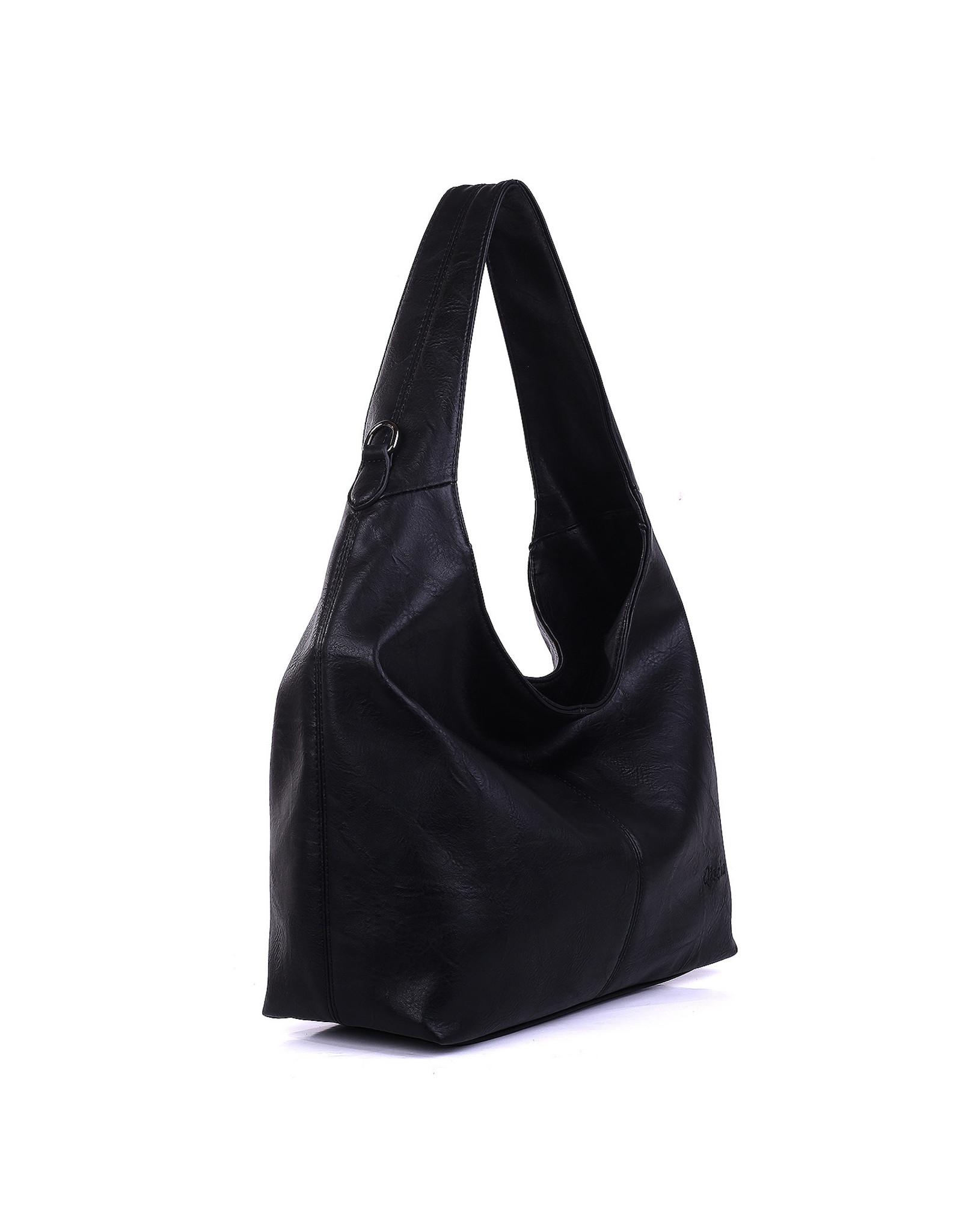 Hand-/schoudertas zwart