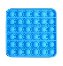 Pop it vierkant blauw