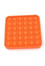 Pop it vierkant oranje