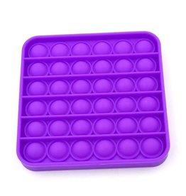 Pop it vierkant paars