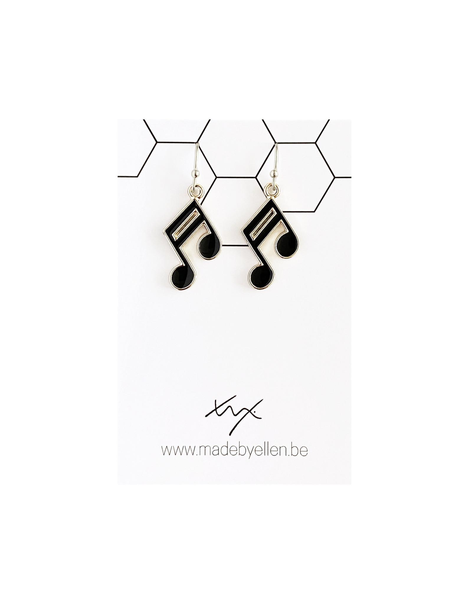 Hangertjes email muzieknoot