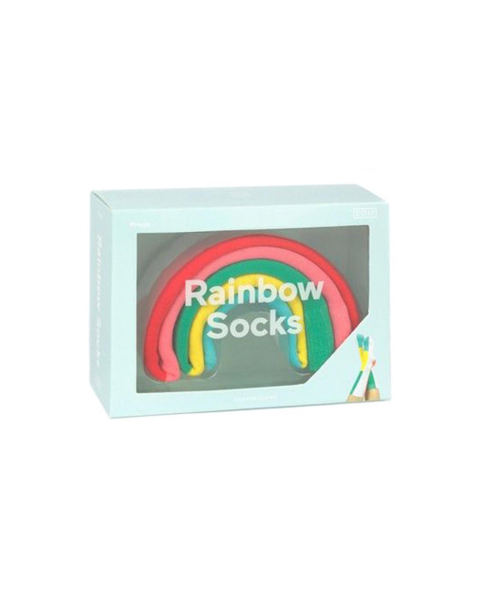 Sokken regenboog