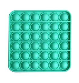 PRE ORDER Pop it vierkant turquoise