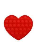 Pop it hart rood
