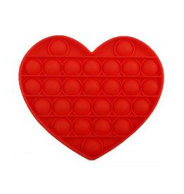 PRE ORDER Pop it hart rood