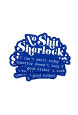 Sticker vinyl Sherlock