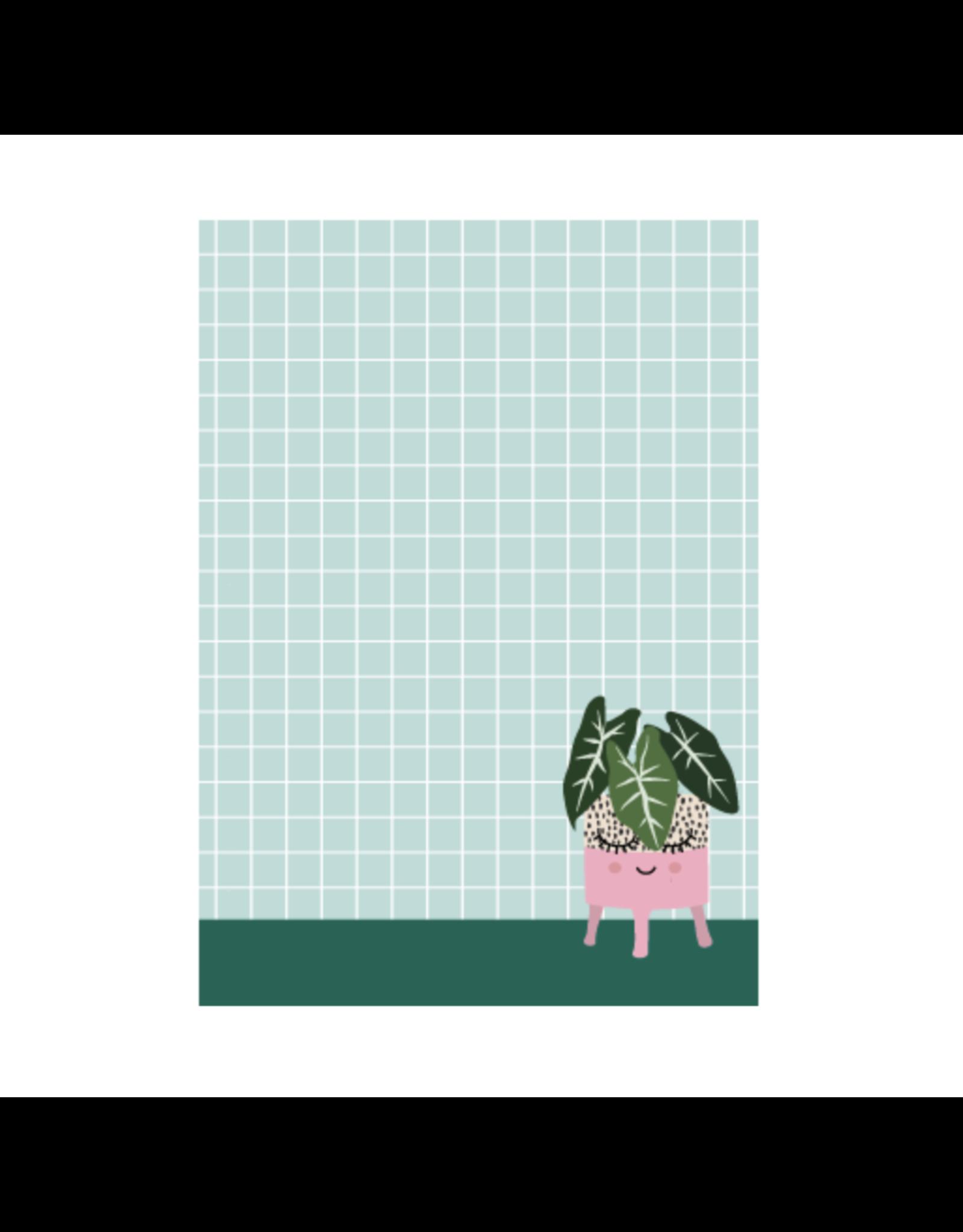 Notablokje A6 plant