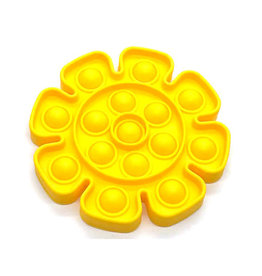 Pop it bloem geel