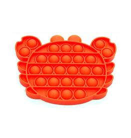 Pop it krab oranje