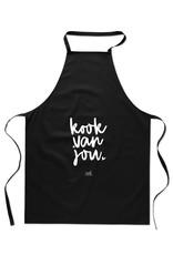 Schort 'Kook van jou'