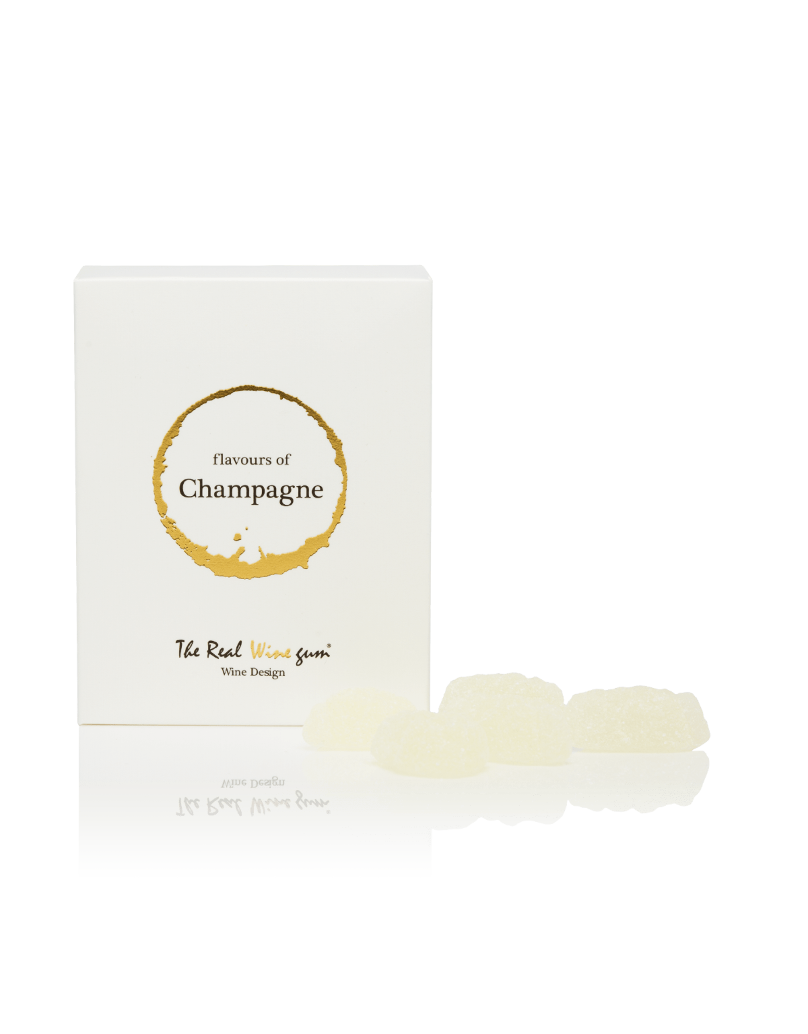 The real WINE gum Champagne