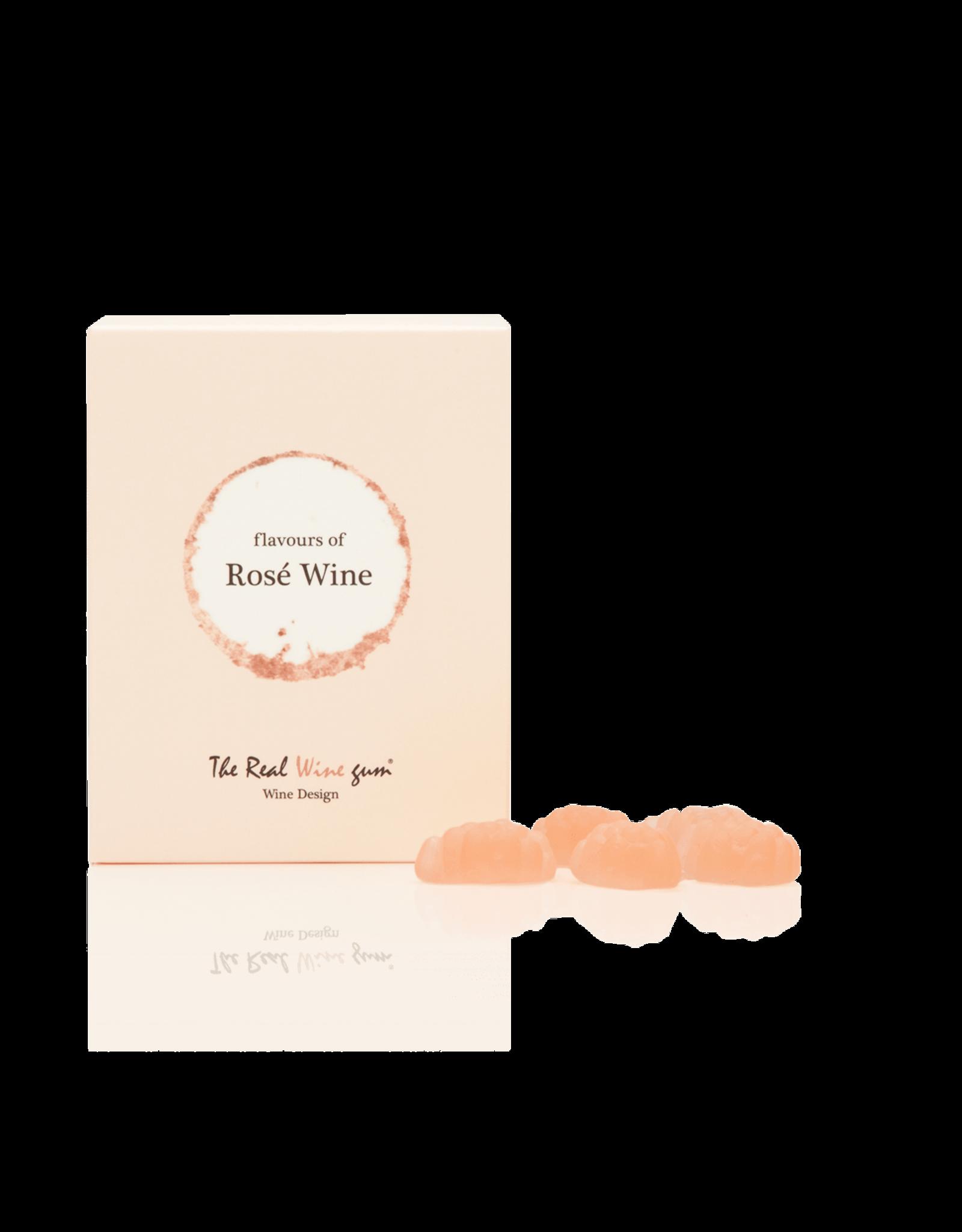 The real WINE gum Rosé