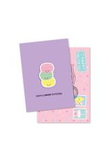 Magneetkaart & enveloppe Have a sweet birthday