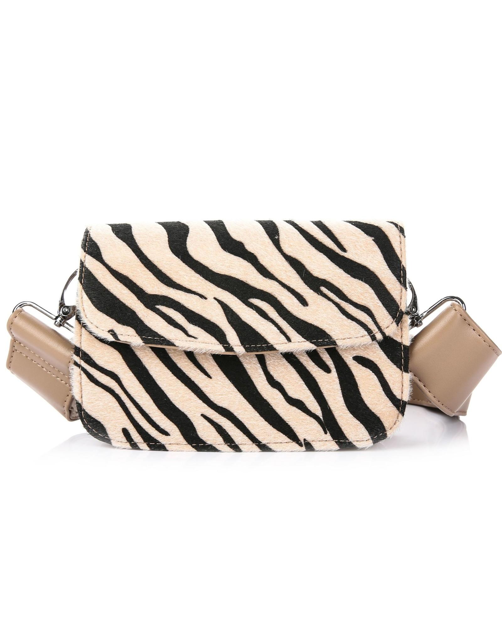 Handtas zebra