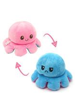 Omkeerbare octopus roze/blauw