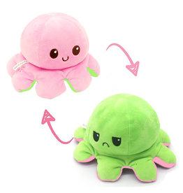 Omkeerbare octopus roze/groen