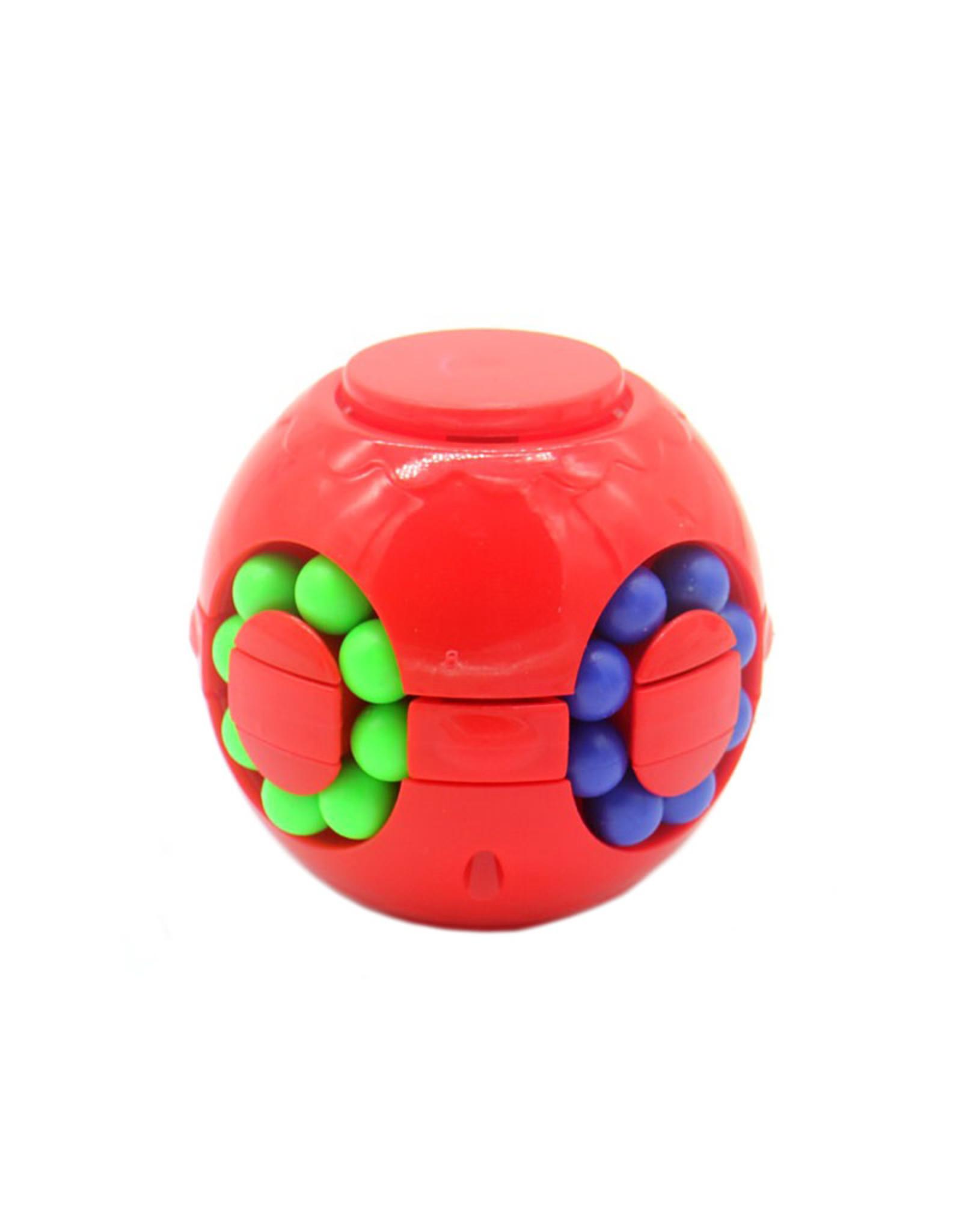 Fidget IQ puzzel bal rood