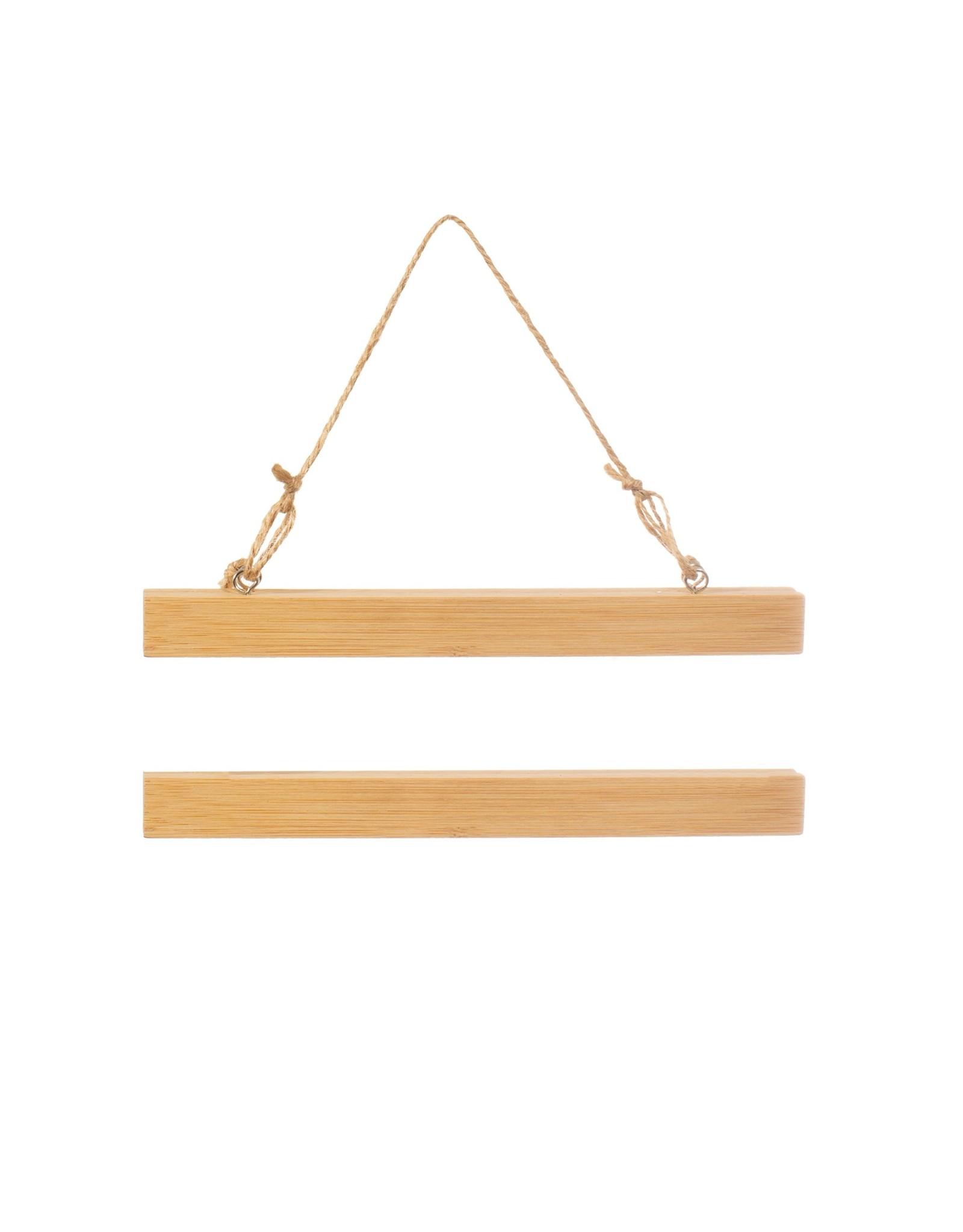 Magnetische posterhanger bamboe S