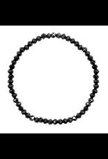 Armbandje strass zwart
