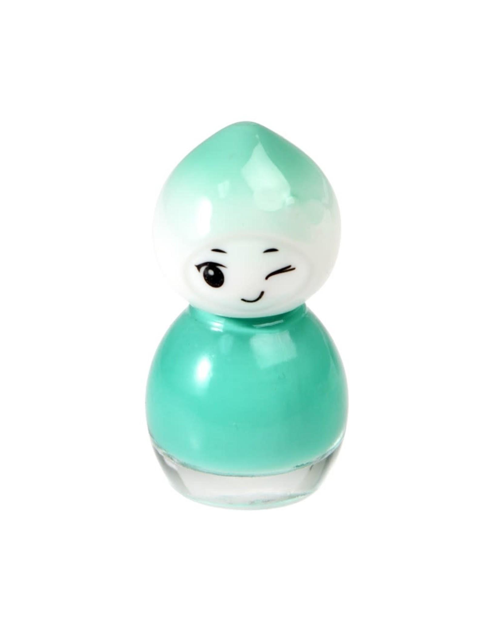 Nagellak op waterbasis turquoise