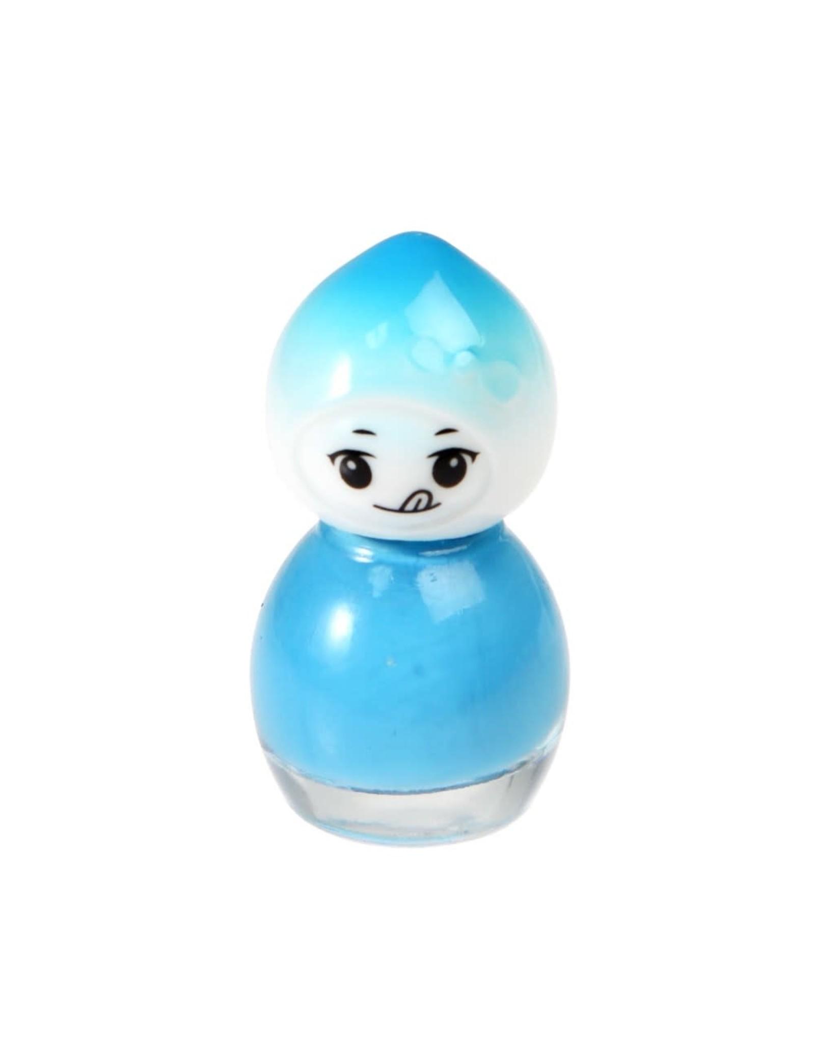 Nagellak op waterbasis blauw