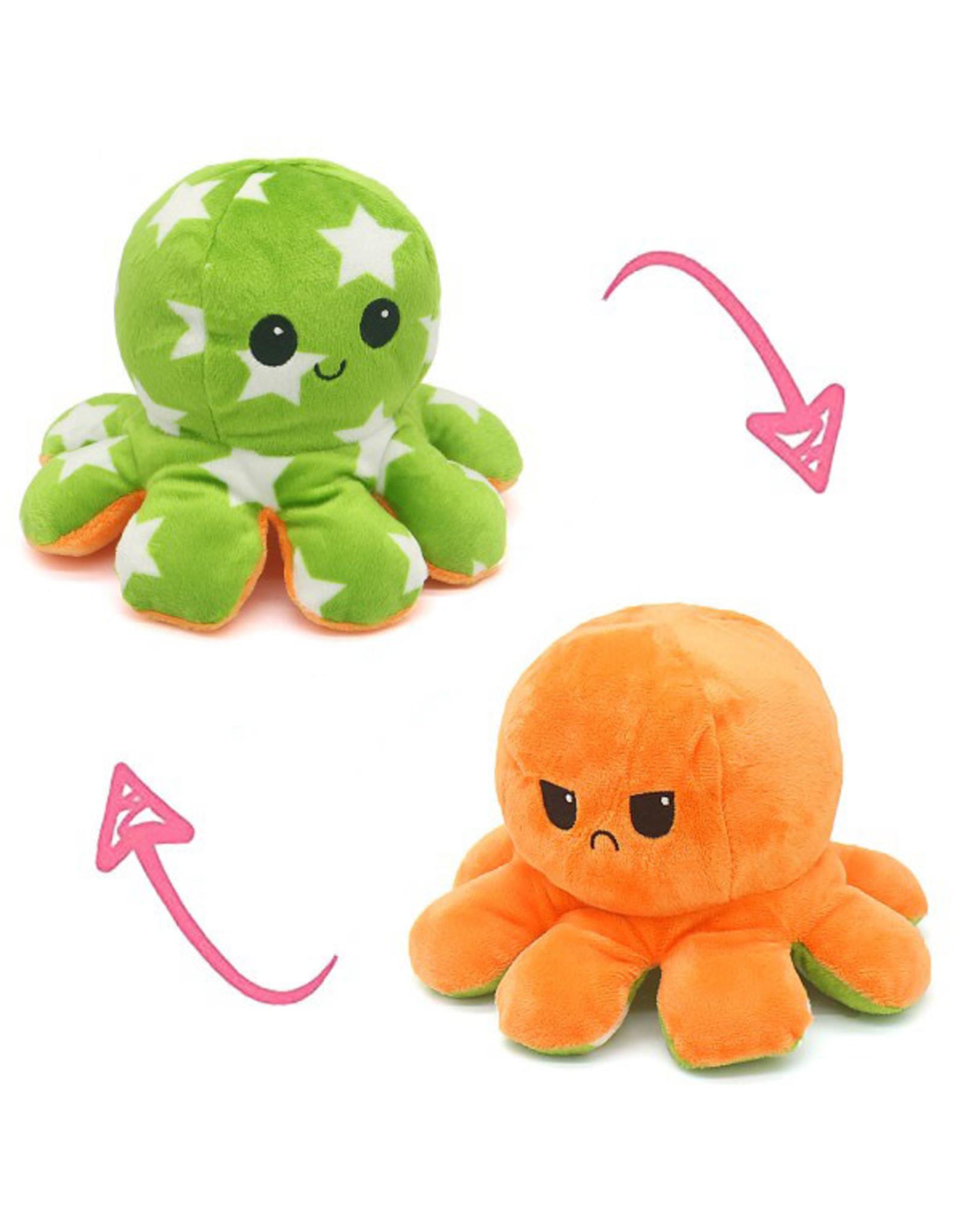 Omkeerbare octopus ster groen/oranje