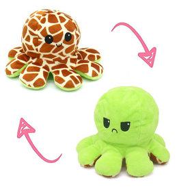 Omkeerbare octopus giraf/oranje