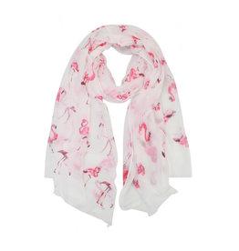 Sjaal flamingo