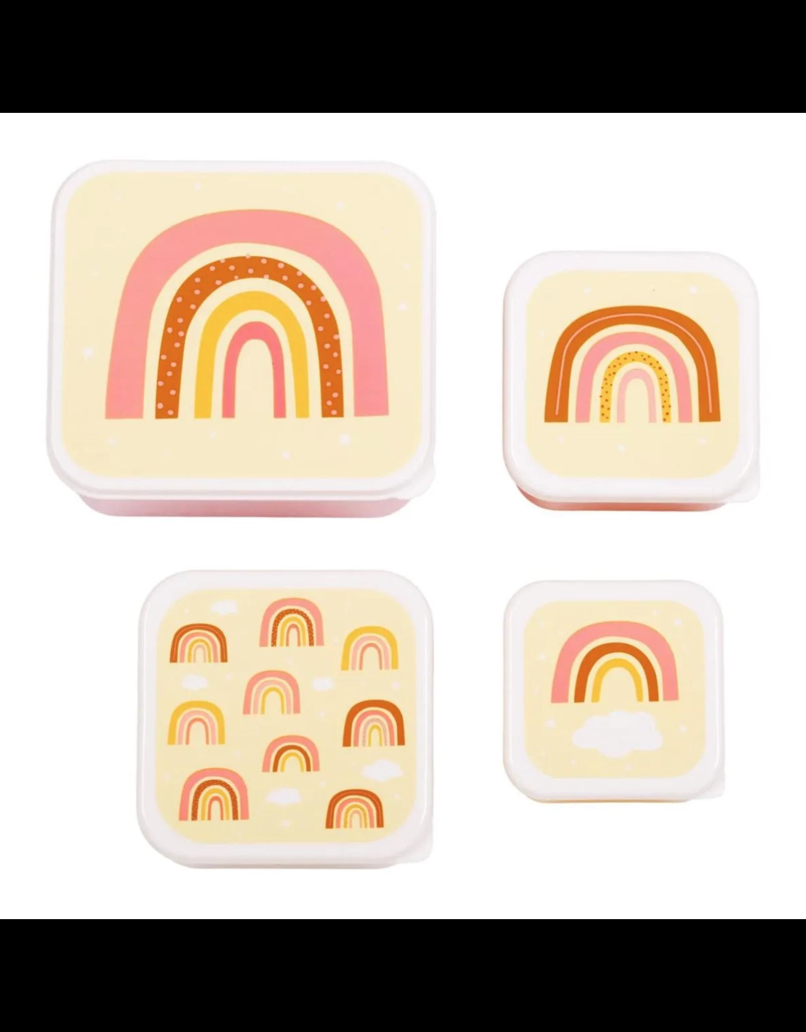 Brood- & koekendoosjes regenboog