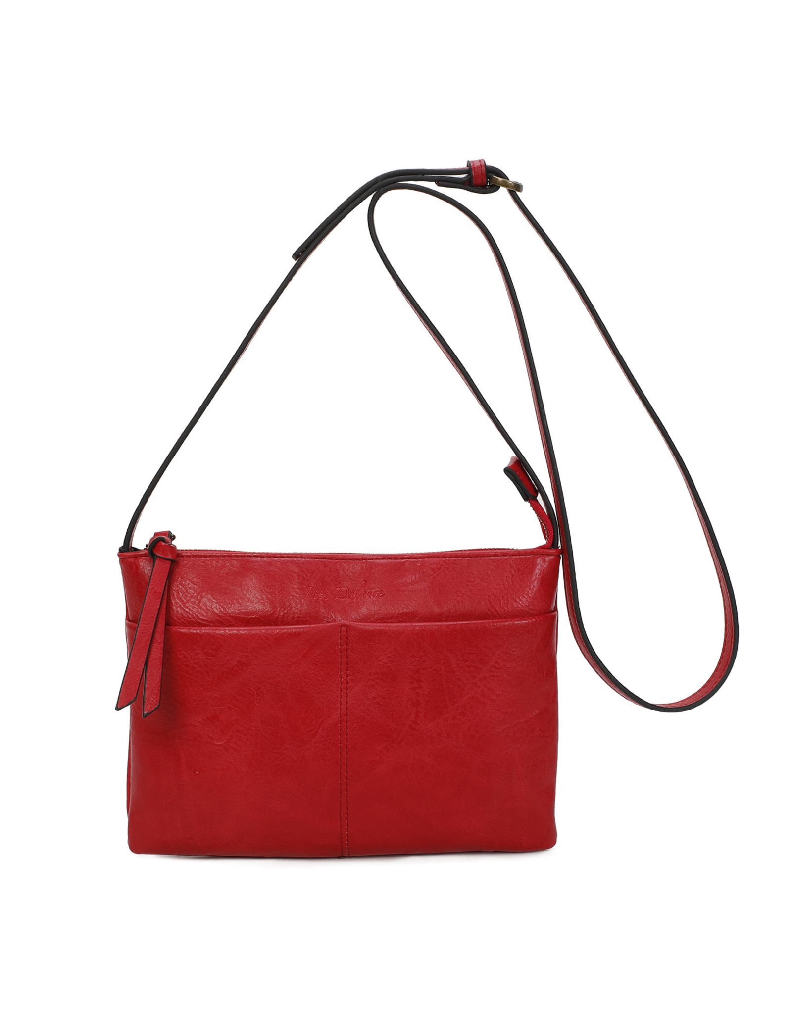 Handtas rechthoek rood