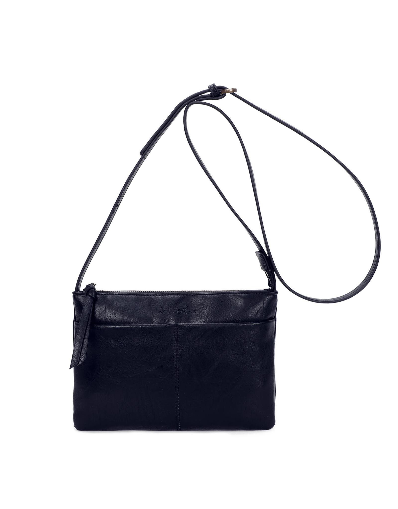 Handtas rechthoek donkerblauw