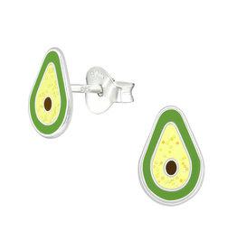 Stekertjes zilver avocado