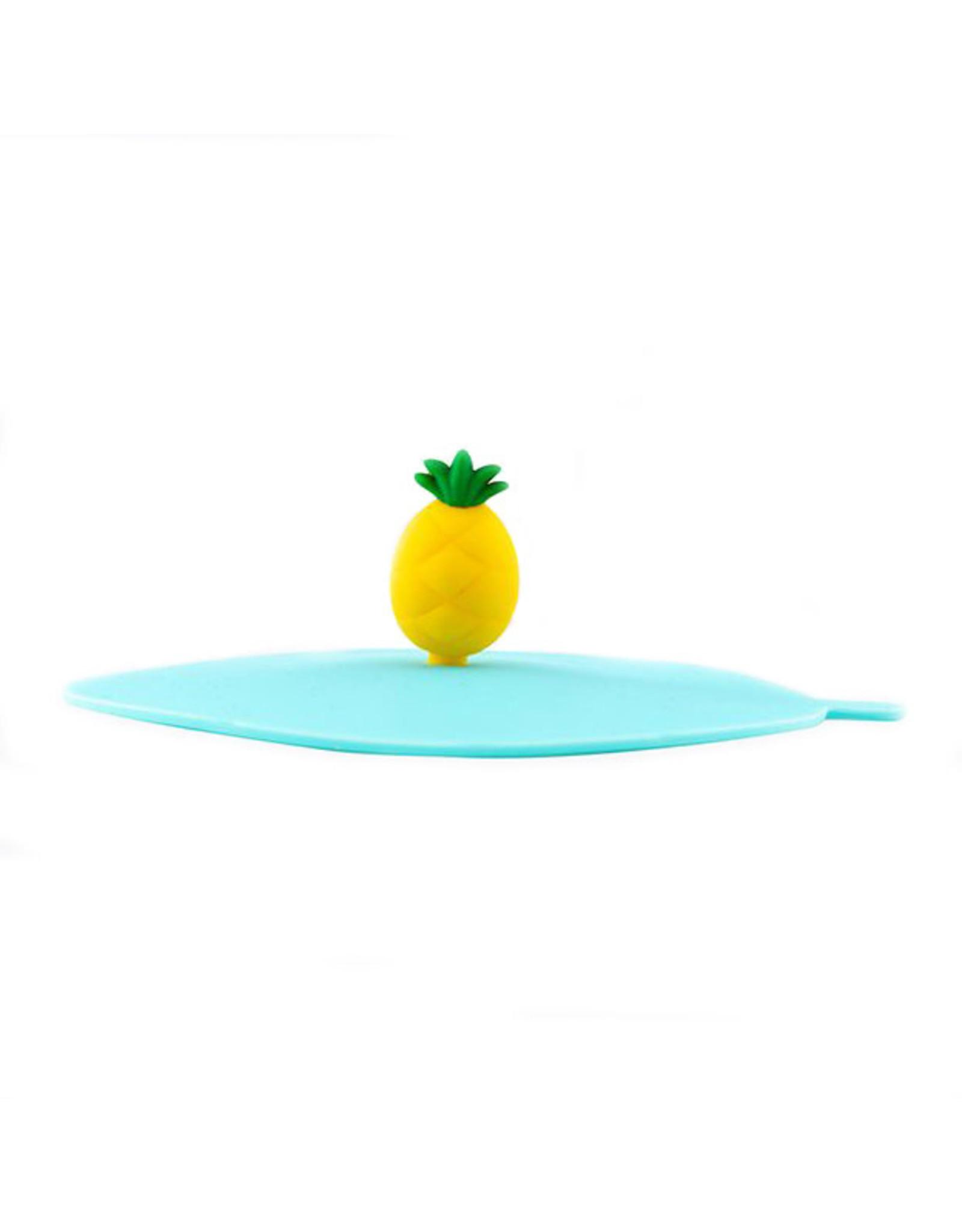 Deksel glas ananas