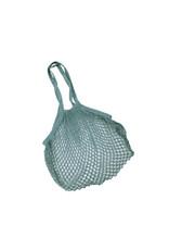 Mesh bag turquoise