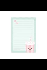 Notablokje A6 milkshake